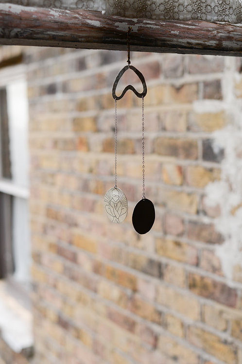 Peen wind chime by Guelmo Rosa