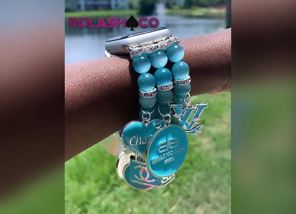 Watch Band-Bracelet w/ Charms