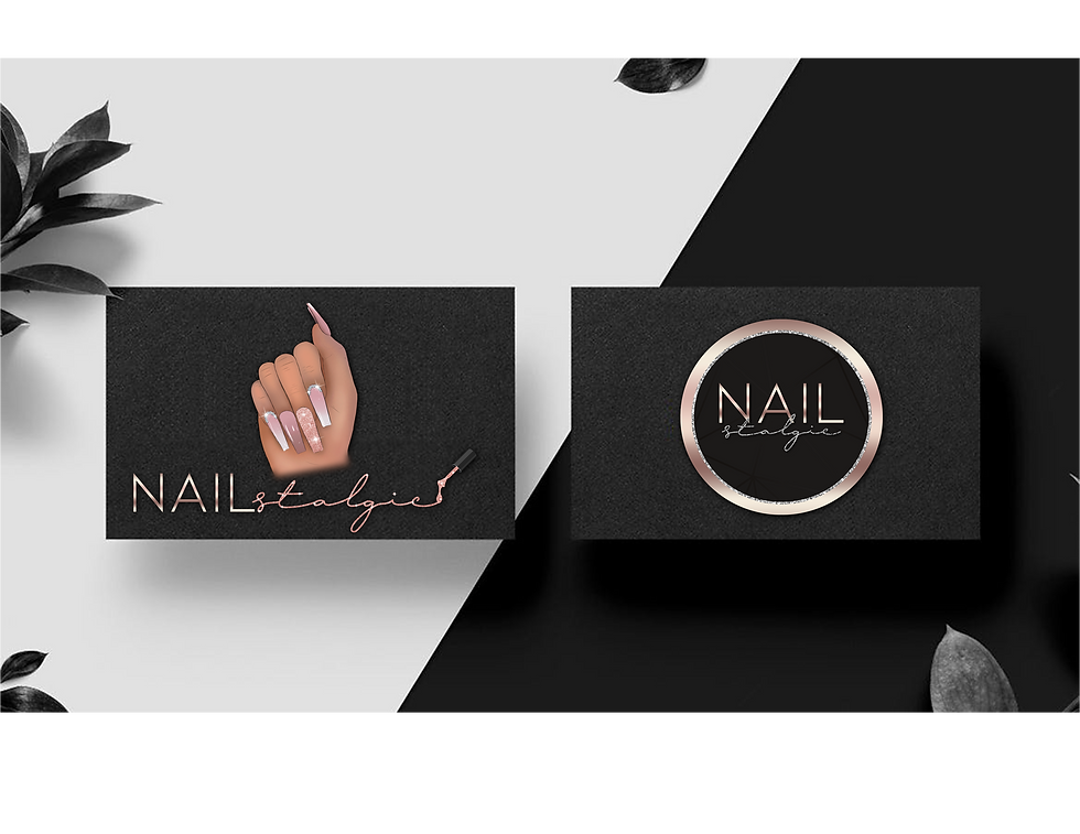PSD Nailstalgic - Cartoon Logo mock up.p