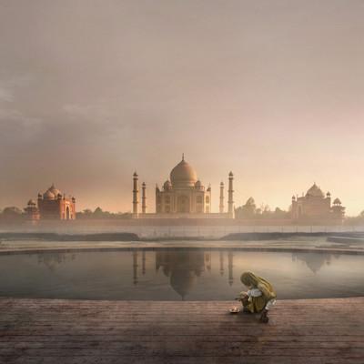 the black taj agra | india