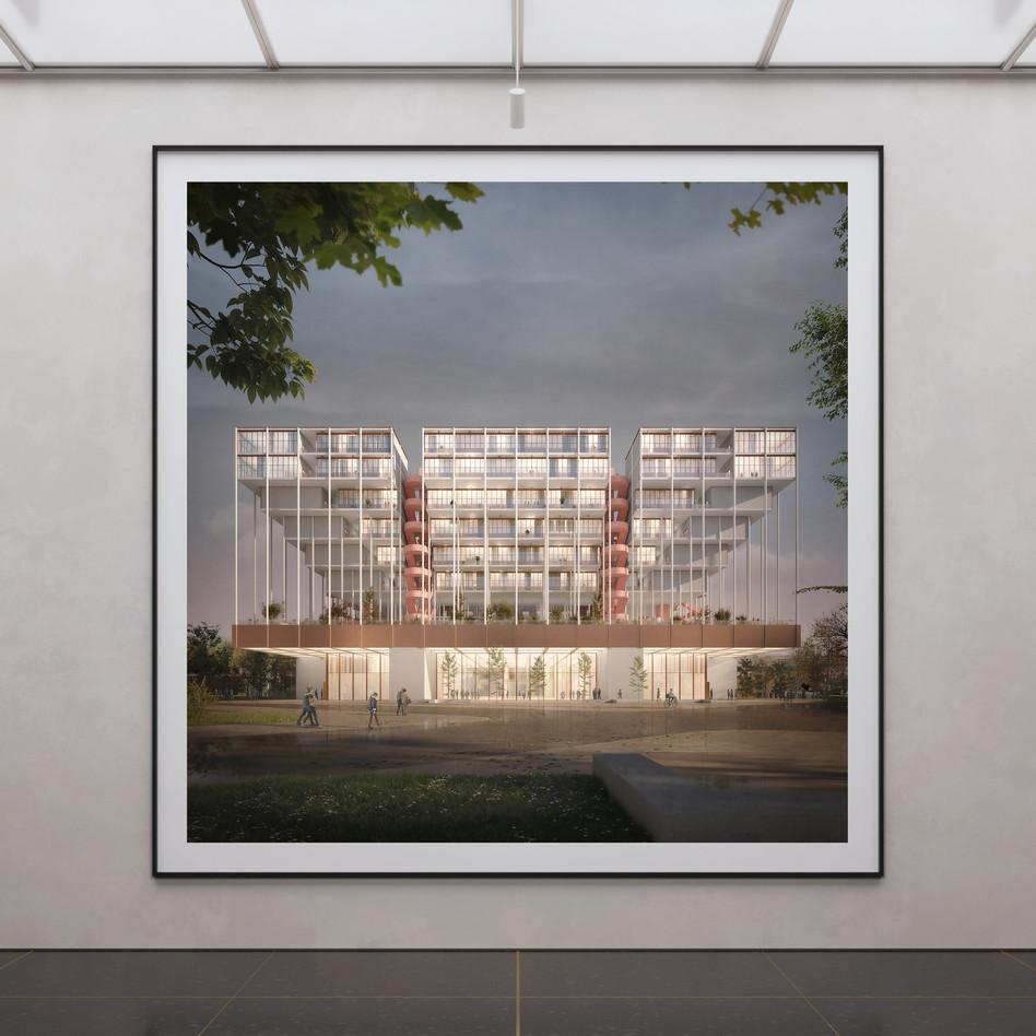 community housing giesing | germany