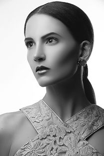Beauty shoot (2) b&w s - Marine de Vacho