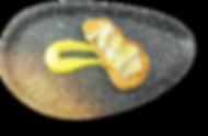 Tosta de Bacalao con mazamorra al aroma