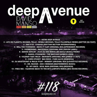 DJ Aristocrat & Paula P'Cay - Nobody ( LoveStyle Records ) in Deep Avenue #118 by David Mans
