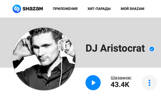 Shazam Artist (40000 followers)