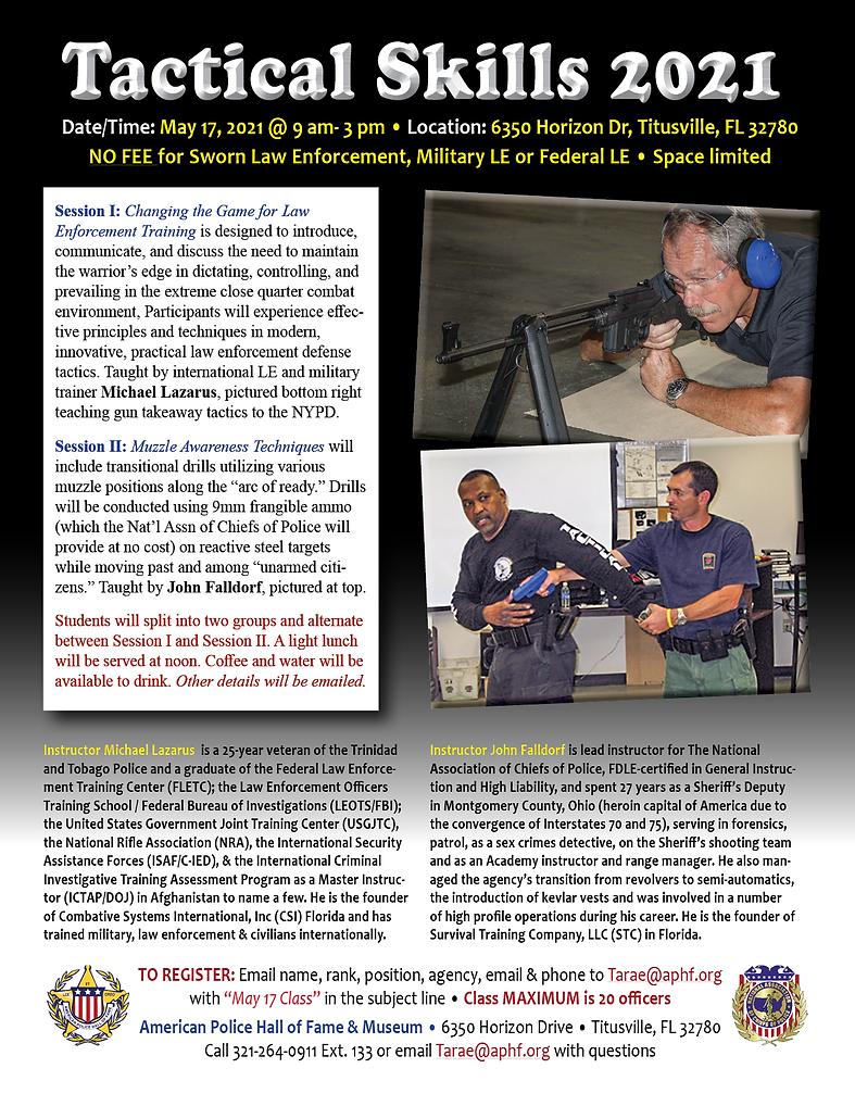 Tactical Skill Drills 2021 Flyer41558.pn