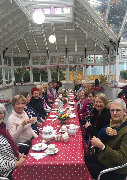 Afternoon tea at The Grange