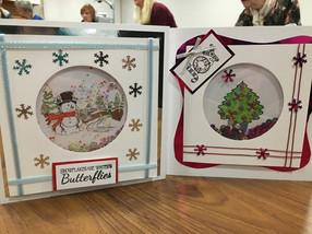 November - Christmas Shaker Cards