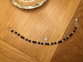 December - Sterling Silver Bracelet