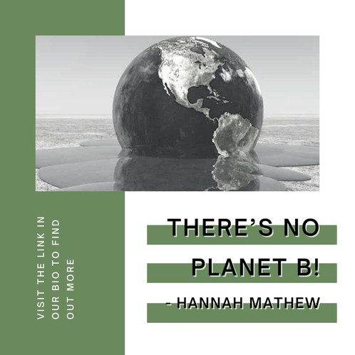 There's No Planet B!
