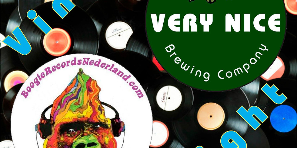 Vinyl Night hosted by Boogie Records