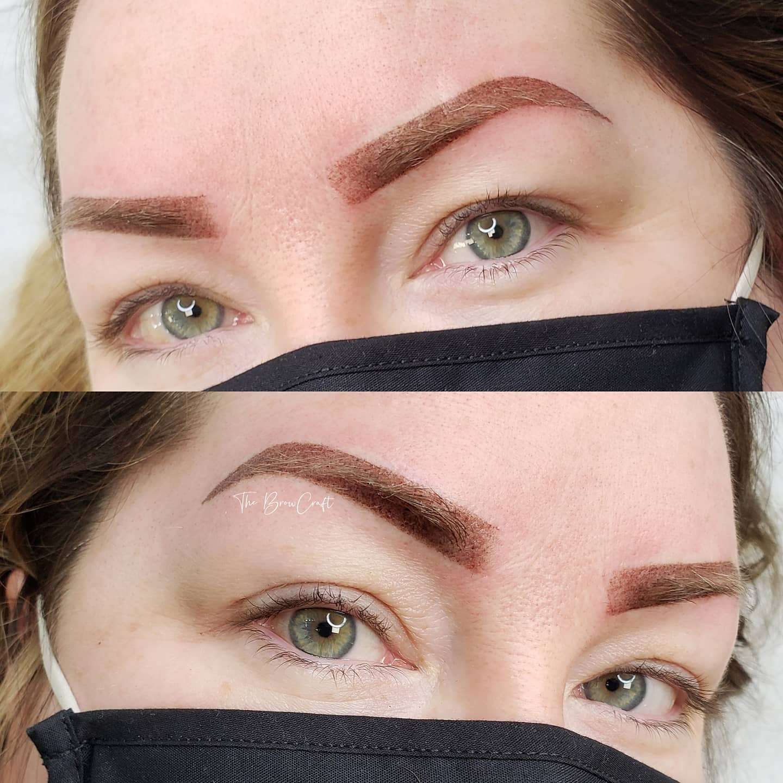 Eyebrow correction