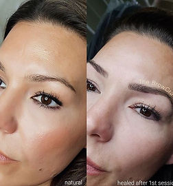 Amazing results after her first session!