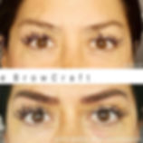 My client had nice full brows to begin w