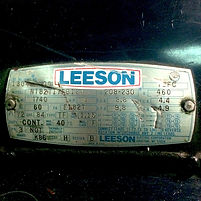 Used 3 HP Leeson AC Motor For Sale