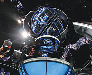 Bill Ferrell Co.'s spinning American Idol logo