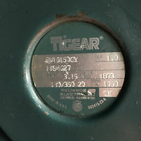 Used 3 HP Reliance Gear Reducer for sale