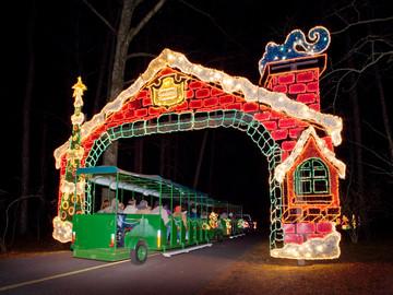 A Hour Outside of Atlanta, Elves Load Santa's Sleigh Via Teeterboard