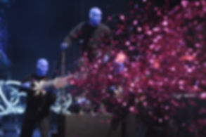 Blue Man Group creates a 6-shooter confetti launcher from Times Square Confetti's CO2 cannons