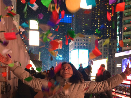 Here's to New Year's Eve Confetti Writers (yes, already)