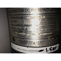 Used Allen Bradley Servo Motor for Sale