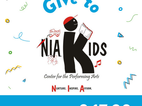 It's North Texas Giving Day! Support N.I.A. Kids!!