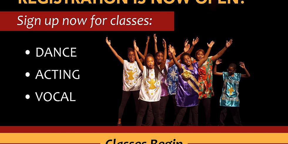Class Registration!! 2019-2020 Season