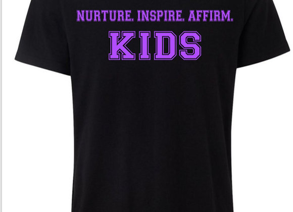 NIA Kids Bold Purple T-shirts