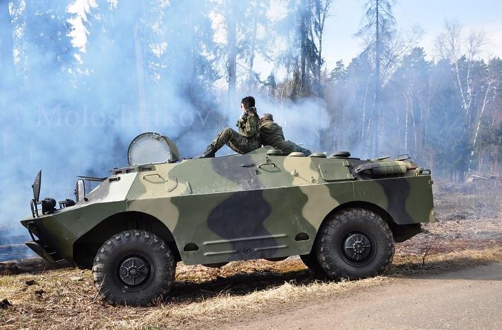 Бронированная Разведывательно-Дозорная Машина (БРДМ-2)