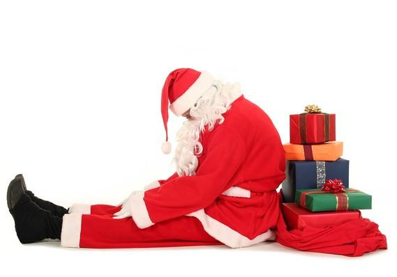 Миллионов, потраченных на новогодние торжества, не хватило на Деда Мороза