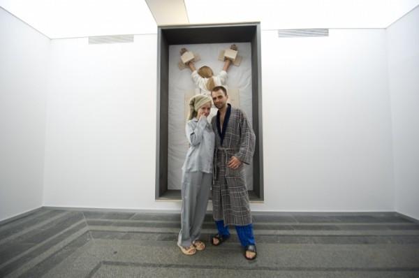 В Тюмени прошла пижамная вечеринка «пожирателей рекламы»