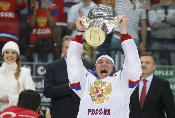 Российская сборная по хоккею подарила стране праздник