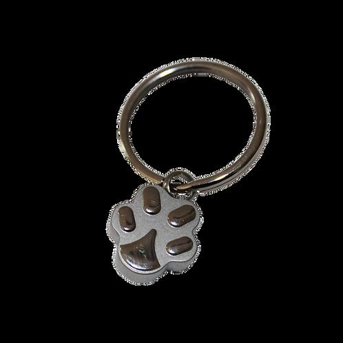 urne bijoux forme de patte vue de face