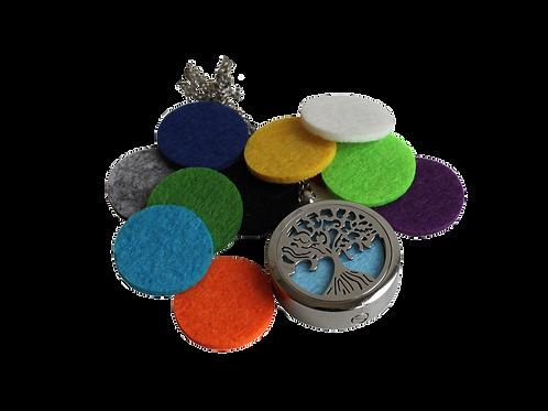 urne bijoux diffuseur de parfum motif arbre de vie