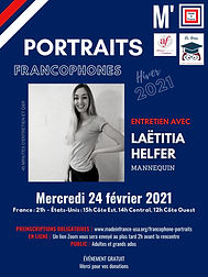 Portraits francophones - Laetitia Helfer
