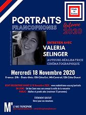 Portraits francophones 2020 - Valeria Se