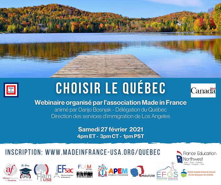 2021 February Webinaire Québec  Facebook