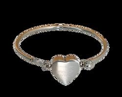 Bracelet coeur 2