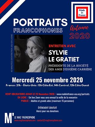 Portraits francophones - Sylvie Le Grati
