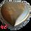 urne laiton gris et doré patte de animal, chien chat lapin oiseau hamster cendres incinération, animal domestique