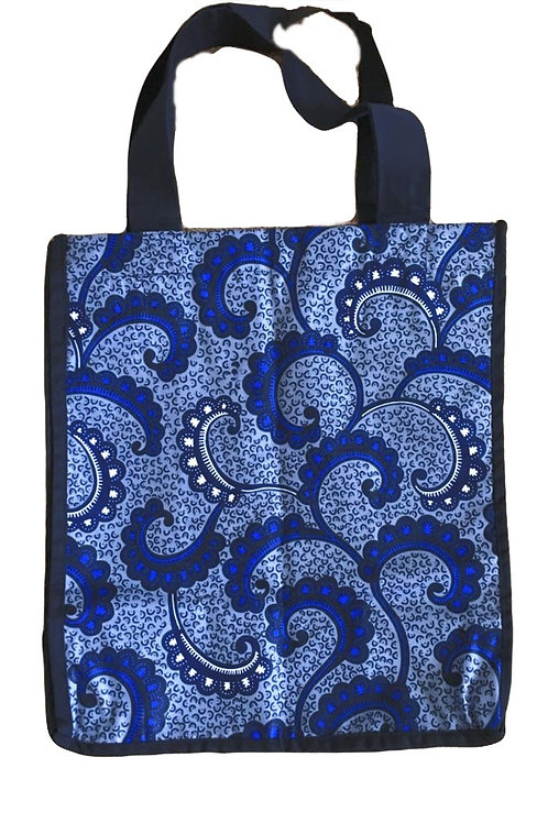 Swirly Grocery Bag