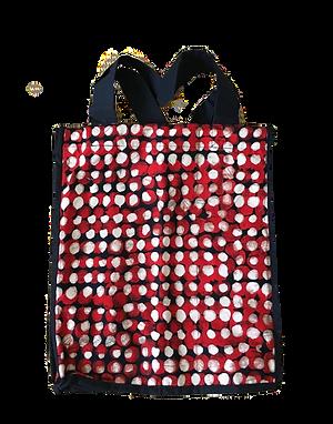 Polka Dot Grocery Bag