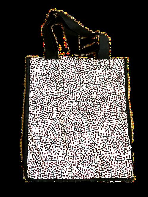 Red Berries Grocery Bag