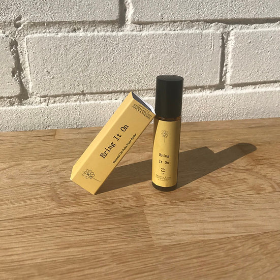 Bring It On Rollerball Pulse Point Oil. Pure Essential Oil. Reviving