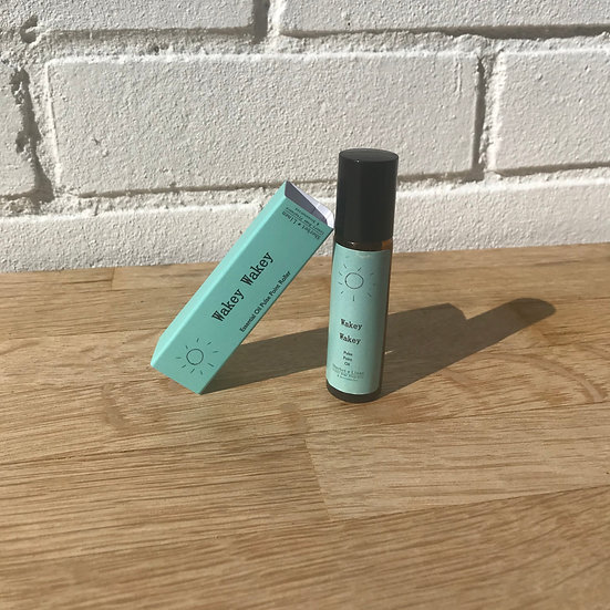 Wakey Wakey Rollerball Pulse Point Oil. Pure Essential Oil. Energising