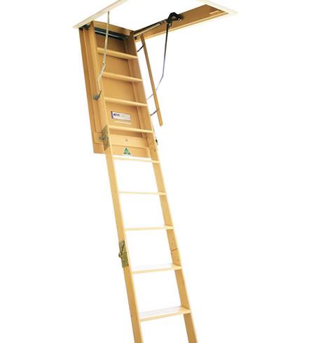 Attic Ladder Custom-Ladder Upgrade Timber