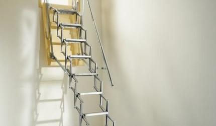 Alumin Concertina Ladder Vertical