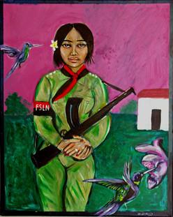 Woman Soldier, Nicaragua 1989