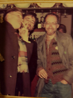 Billy Childish, Bill and Roger McGough. Photo Rob Earl
