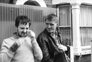 Medway Poets Sexton Ming and Billy Childish early 1980's